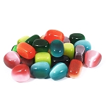 Cat's Eye Tumbled & Polished Gemstone