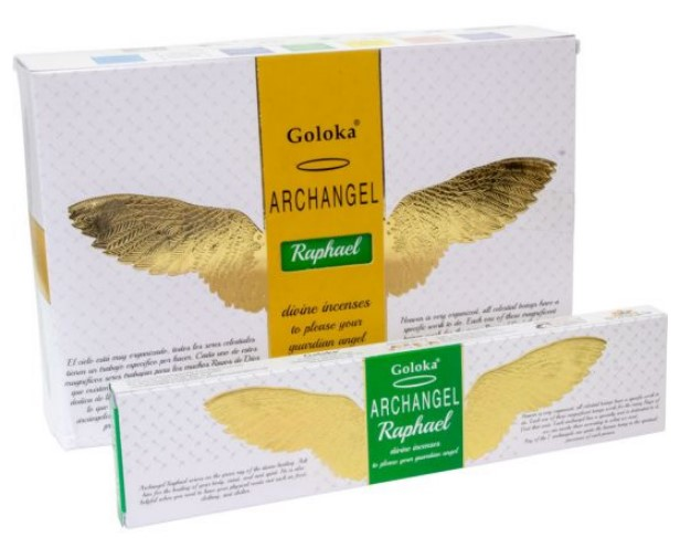 Archangel Incense - Raphael (Healing) - Champion of Art & Healing