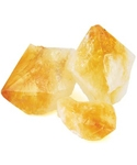 Citrine Gemstone Points - Raw & Large