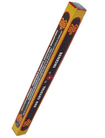 Red Crystal Tibetan Incense - 14''