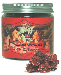 Ramakrishnananda Exotic Indian Resins - Kama (Love & Attraction) - 2.4 oz.