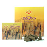 Sandesh (SAC) Cone Incense - Cinnamon