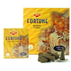 Sandesh (SAC) Cone Incense - Fortune
