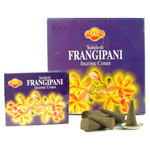 Sandesh (SAC) Cone Incense - Frangipani