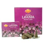 Sandesh (SAC) Cone Incense - Lavender