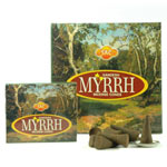 Sandesh (SAC) Cone Incense - Myrrh
