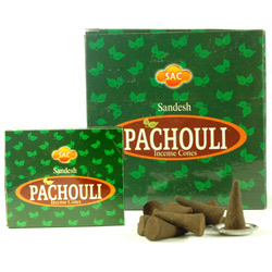 Sandesh (SAC) Cone Incense - Patchouli