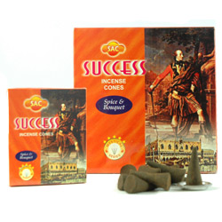 Sandesh (SAC) Cone Incense - Success