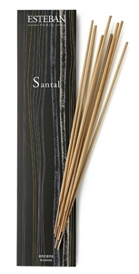 Esteban Santal Incense Sticks - 20 Bamboo Sticks
