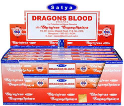Satya Incense - 15 Gram Packs - Dragon's Blood