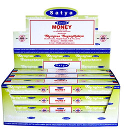 Satya Incense - 15 Gram Packs - Money