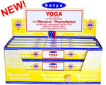 Satya Incense - 15 Gram Packs - Yoga Incense