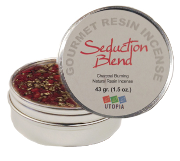 Gourmet Resin Incense - Seduction 1.5 oz. Tin