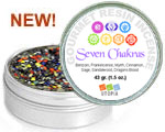 Gourmet Resin Incense - Seven Chakras 1.5 oz. Tin