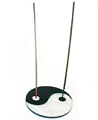 Soapstone Yin Yang Incense Burner (Large)