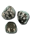 Obsidian (Snowflake) Tumbled & Polished Gemstone