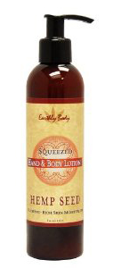 Earthly Body Hemp Seed Hand & Body Lotion - Squeezed (Grapefruit)