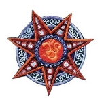 Star OM Embroidery Patch - 3