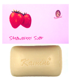 Kamini Strawberry Soap - 100gr.