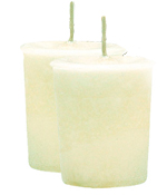 Summer Vacation Crystal Journey Traditional Votive Candle - 2 Candles