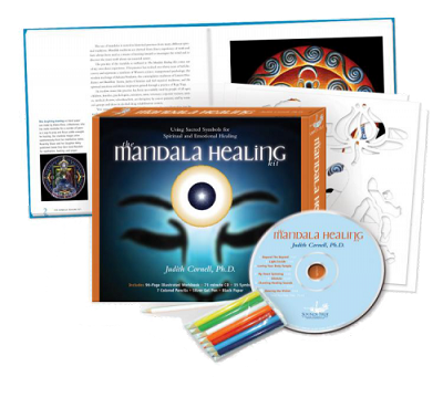 The Mandala Healing Kit Using Sacred Symbols for Spiritual and Emotional Healing by Judith Cornell