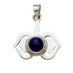 Sterling Silver Chakra Pendant - Third Eye