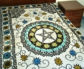 <Blockquote>Floral Pentacle Tapestry</Blockquote>