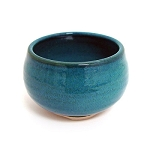 Ceramic Japanese Handthrown Bowl - Ocean Blue