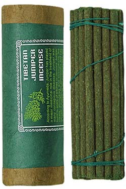 "Tibetan Juniper Incense - 30 Sticks - 4.5"" Long"