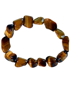 Tumbled Stones Bracelet  - Tiger Eye