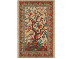 Tree of Life Tapestry - Red