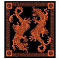 Oriental Dragon Tapestry