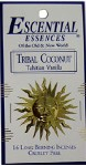 Escential Essences Incense - Tribal Coconut