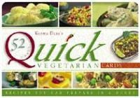 Quick Vegetarian Recipe Cards