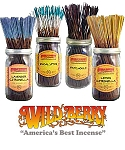 WildBerry Incense - Summer Incense Sampler (20 Incense Sticks)