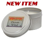 Wild Berry Candle - Ocean Wind