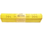 Wooden Yellow Incense Burner w/Sandalwood Incense Sticks & Incense Cones