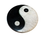 Incense Burner - Soapstone Yin Yang Incense Burners - Small