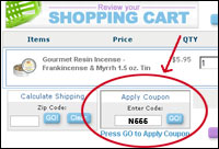 How to Use Incense Warehouse Coupons