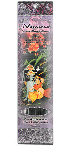 Prabhuji's Gifts Incense - Yamuna - Vanilla, Copal and Amber