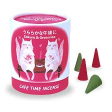 Cafe Time Incense - Sakura & Green Tea (Bright Afternoon)