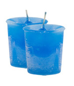 Ylang Ylang Crystal Journey Traditional Votive Candles [ 2 ]