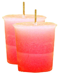 Seduction Crystal Journey Herbal Magic Votive Candles [ 2 ]