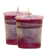 Healing Crystal Journey Herbal Magic Votive Candles [ 2 ]