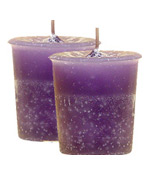 Wisdom Crystal Journey Herbal Magic Votive Candles [ 2 ]