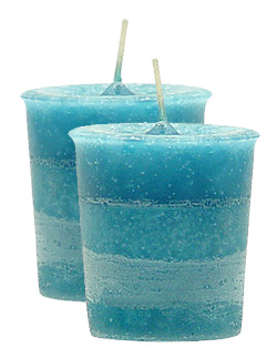 Angel's Influence Crystal Journey Herbal Votives - 2 Candles