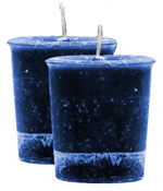 Gratitude Crystal Journey Herbal Magic Votive Candles [ 2 ]