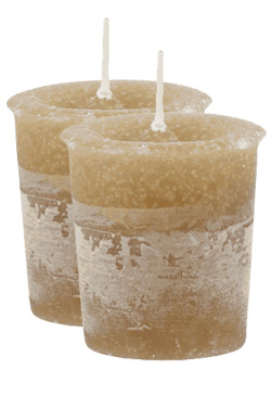 Musk Crystal Journey Traditional Votive Candles [ 2 ]