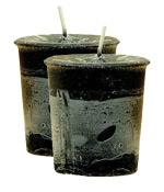 Protection Crystal Journey Herbal Magic Votive Candles [ 2 ]