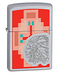 Zippo Classic Lighter - Indian Chief